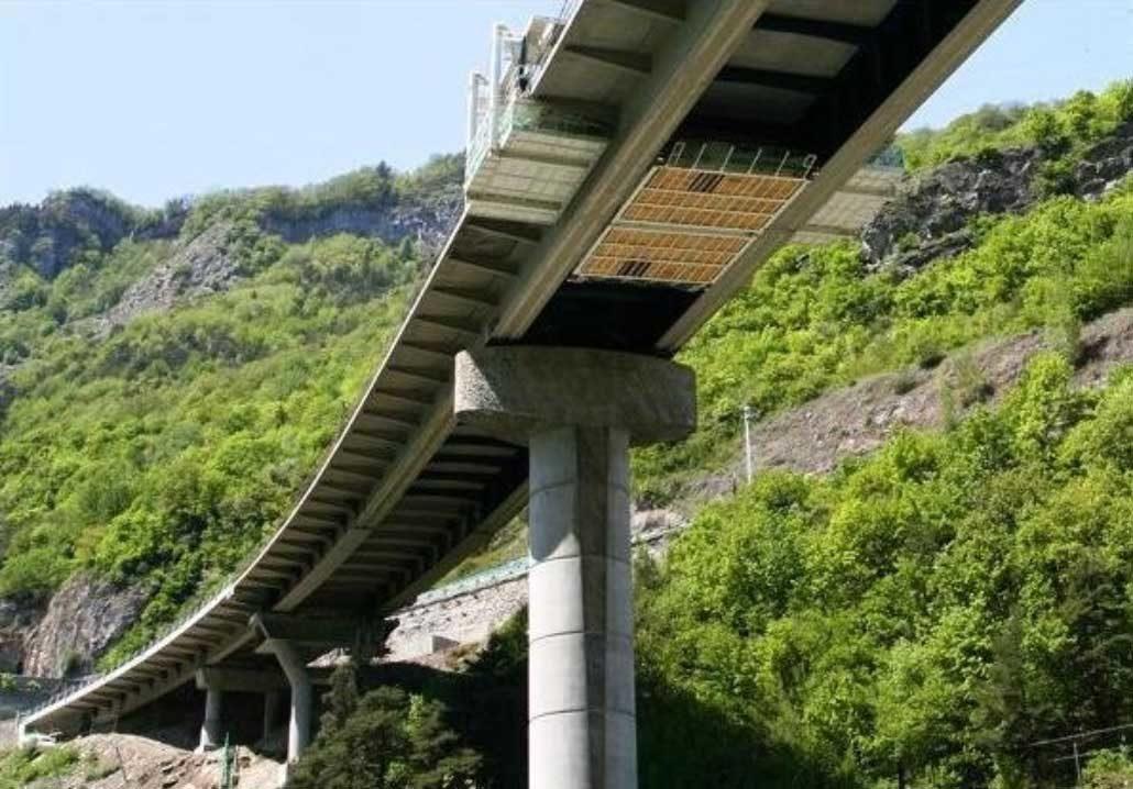 Pont à Centron (France)