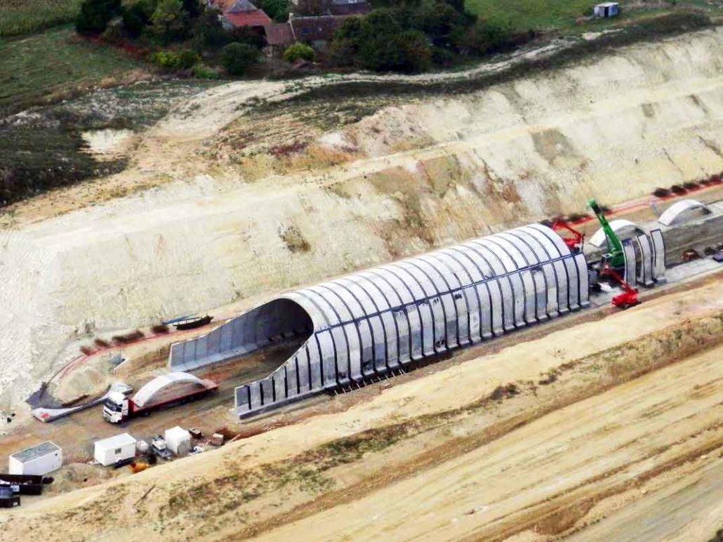 Tranchées couvertesTranchées couvertes LGV-SEA (France)