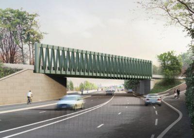 Remplacement du pont de Troyon (Paris, France)